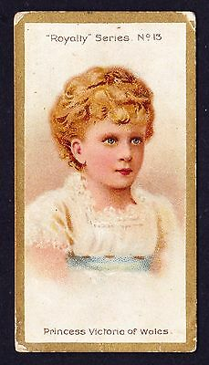 Taddy ROYALTY SERIES 1903 #13 Princess Victoria Of Wales *Good Condition*