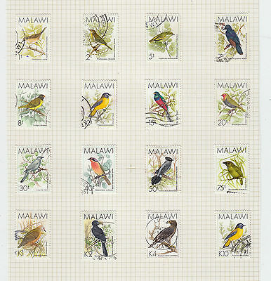 A very nice old Malawi 1988 Bird album Page Values to K10