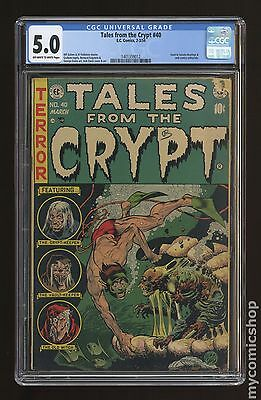 Tales from the Crypt (1950 E.C. Comics) #40 CGC 5.0 1401359012