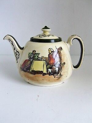 Royal Doulton Seriesware Teapot A Cup of Tea with Dr Johnson D3367 Very Rare