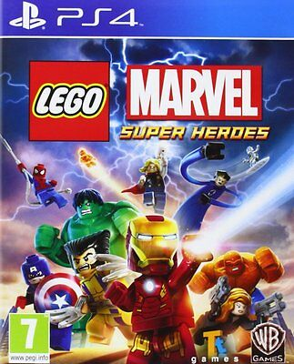 LEGO Marvel Super Heroes PS4 Sony PlayStation 4 Brand New Factory Sealed