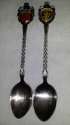 Vintage Silverplate Silver Plated German Spoon Silverplated Germany with Crest