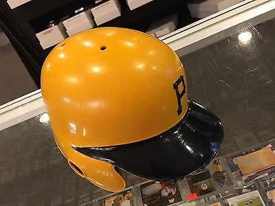 1987 Mike Lavaliere Pittsburgh Pirates Game Used Batting Helmet Super Rare #4