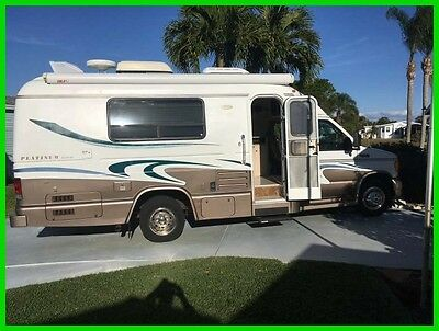 2003 Coach House Platinum 232XL 23' Class C V10 Gasoline Motorhome Backup Camera