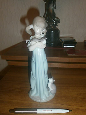 """Lladro Sweet """"Dont Forget Me"""" Figurine -Grt Cond"""