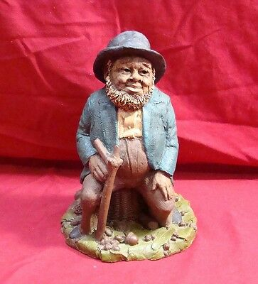 "TOM CLARK ""LAWRENCE"" FIGURINE No 27 DATED 1983 9 1/4"" TALL GNOME SCULPTURE"