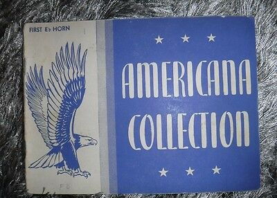 Americana Collectin First E Horn - By Rubank Inc -Vintage 1942