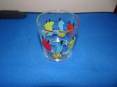 Nutella The Simpsons Maggie Glass From 2001