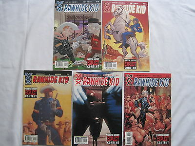 Rawhide Kid : Complete 5 Issue Series. Severin. Explicit Content.marvel Max.2003
