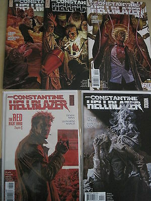 "HELLBLAZER 224,225 -228 ""The RED RIGHT HAND"", COMPLETE 5 PART STORY.2006.VERTIGO"