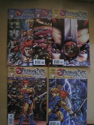 THUNDERCATS : ENEMY'S PRIDE : COMPLETE 5 ISSUE SERIES by LAYMAN & VRIENS.WS.2003