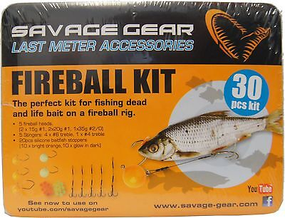 Savage Gear Fireball Pro Pack Kit (30-teiliges Set), Sortiment für Köderfisch