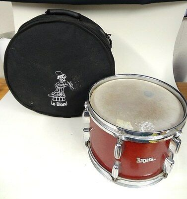 """ROGERS Rack Tom Drum 13"""" Dia x 9""""High in Padded Le Blond Case"""