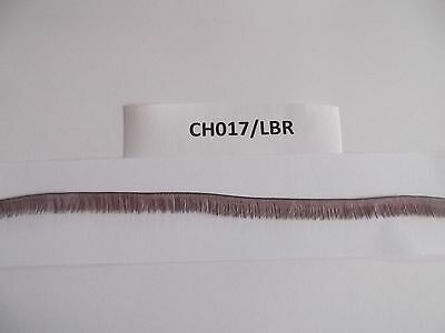 Strip Of Brown Fine Long Length Doll Eyelashes Suitable For Reborns  Ch0217/lbr