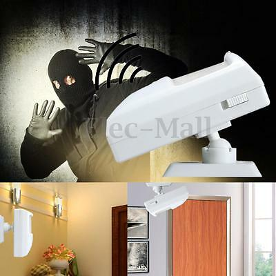 90dB Security Burglar Infrared Motion Sensor Detector PIR Alarm Battery Power