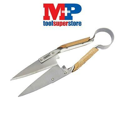 Draper 76774 300mm Topiary Shears Wood Handles For Trimming/Shaping Bushes Trees