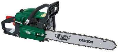 Draper 75188 Expert 49.3cc 450mm Petrol Chainsaw with Oregon® Chain and Bar