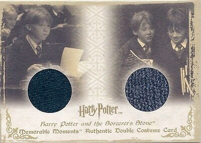 HARRY POTTER Memorable Moments Double Costume Card DC1 - Ron Weasley