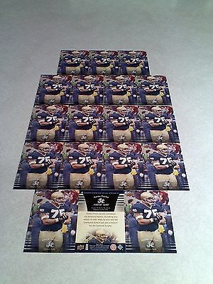 *****Aaron Taylor*****  Lot of 18 cards / Notre Dame / Football