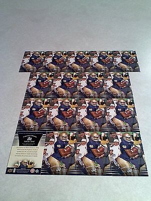 *****Courtney Watson*****  Lot of 17 cards / Notre Dame / Football