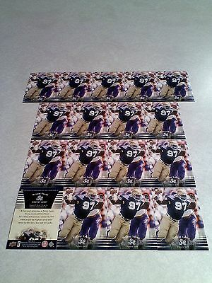 *****Bryant Young*****  Lot of 17 cards / Notre Dame / Football