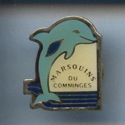 Rare Pins Pin's .. Animal Dauphin Dolphin Natation Comminges St Gaudens 31 ~Cd