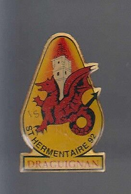 Rare Pins Pin's .. Animal Dragon Legende St Hermentaire 92 Draguignan 83 ~Av