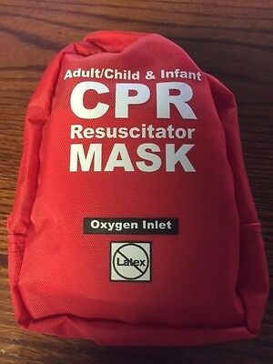 Adult/Child and Infant CPR Mask Combo Kit in Soft Case
