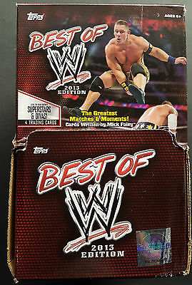 Topps Best Of WWE Gravity Feed Box 2013