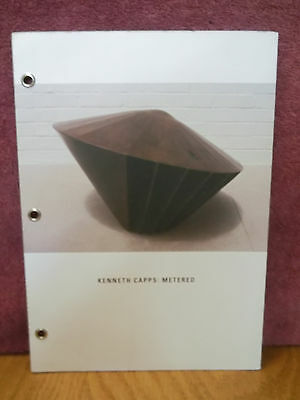 Kenneth Capps: Metered Cannon Art Galley Minimalist Sculpture Exhibition Catalog