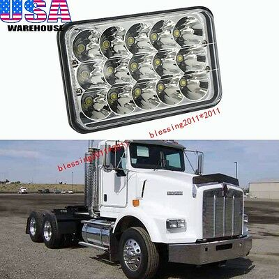 1 Piece LED Headlight For Kenworth T400 T600 T800 W900L W900B Classic 120/132 AA