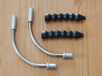 New Shimano Brake Noodle Pipe & Rubber Cable Guide Boot 90 Deg MTB Bicycle BMX