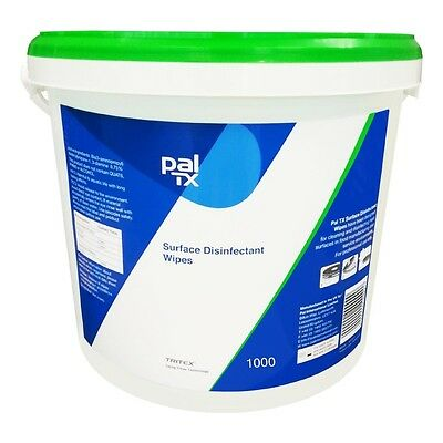 1000 x Pal TX Disinfectant Wipes J860  Catering Cleaning