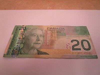 Canada 2004 $20 Note Nice Circulated