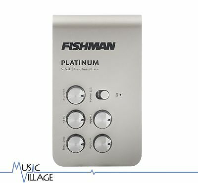 Fishman Platinum Stage Analog Preamp and DI PRO-PLT-301