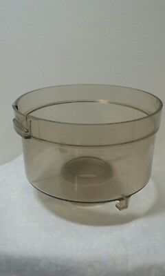 Vintage General Electric Food Processor Parts Only Bowl And Lock Ring