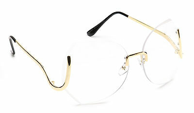 Women Oversized Eyeglasses Vintage Huge Designer Square Clear Lens Fashion Style