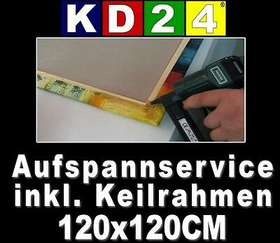 KD24 Clamping service incl. Tenter frame 120x120 CM