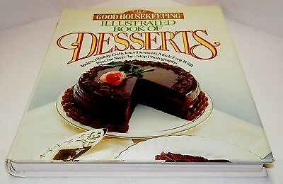 Books, The Good Housekeeping Illustrated Book of Desserts Cookbook Recipes