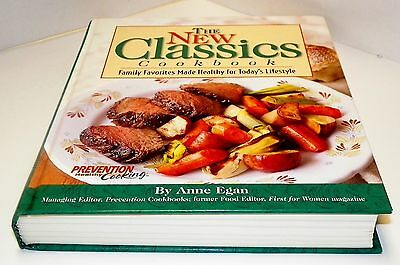 Books, The New Classics Cookbook, recipes From Prevention