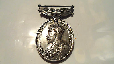 Ww1 British  Territorial War Medal For Efficient Service R.a.m.c  Ramc