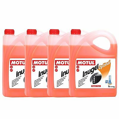 Motul Inugel Optimal Car / Vehicle Engine Coolant / Anti Freeze - 4 x 5 Litres