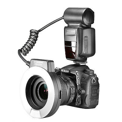 Neewer Macro TTL Ring Flash Light with AF Assist Lamp for Nikon DSLR Camera