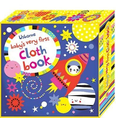 Baby's Very First Cloth Book by Fiona Watt 9781409581727 (Hardback, 2015)