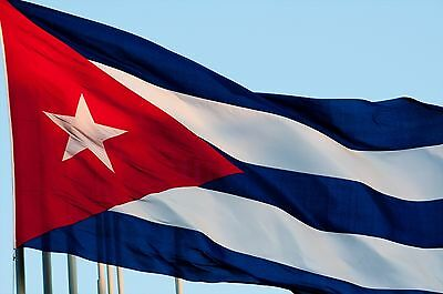 3x5ft Cuba Flags Cuban Flag and Banner Bandera Cubana Indoor Outdoor Bandera L