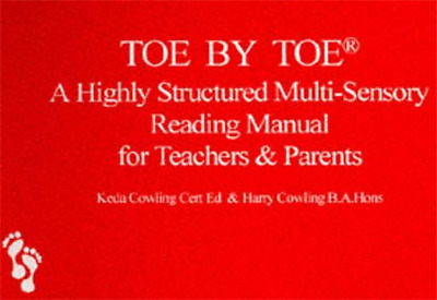 Toe by Toe: Highly Structured Multi-Sensory Reading Man - Paperback NEW Cowling,