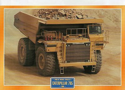 Caterpillar 785            Glossy   Picture (T369)