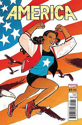AMERICA (2017) #1 Cliff Chiang VARIANT Cover 1:50