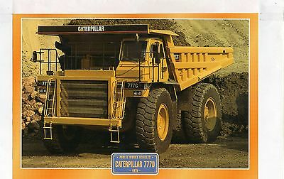 Caterpillar 777D         Glossy   Picture (T371)