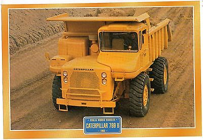 Caterpillar 769 B       Glossy   Picture (T373)